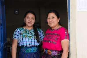 Rebeca with Principal Magdalena