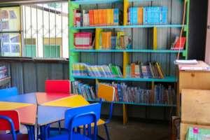 A school library in Nueva Providencia (2017)