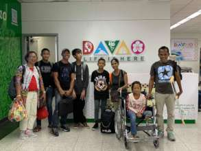 Arrival at Davao Airport