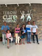 Leaving Tebow Cure Hospital