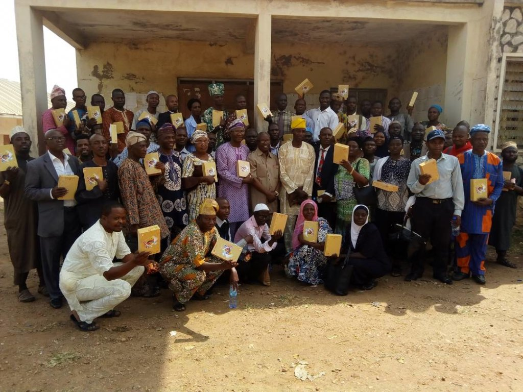 Volunteer Corps Tutoring, Osun State of Nigeria.