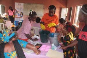 Skills Training in Soap Making