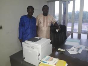 Our Benin team, Denis Hazoume & Jules F. Zannou