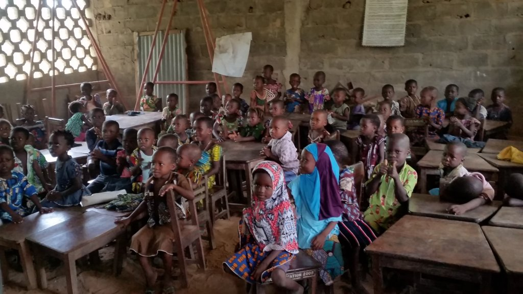 Empower 100K children through education in Benin