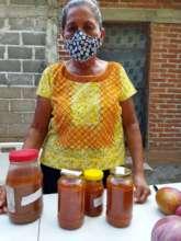 Ana with jam
