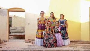 Generations of women in Ixtaltepec