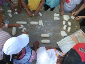 Bread making class