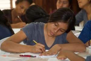 Andrea in academic counseling