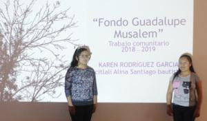 Presentation of community works