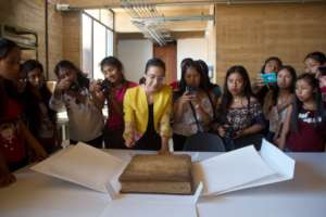 Visit to the General Archive of the State of Oaxac