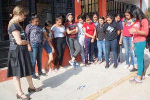 Women scholars in photography class
