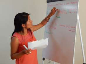 Mathematics woman