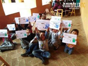 Little guardians of animal welfare