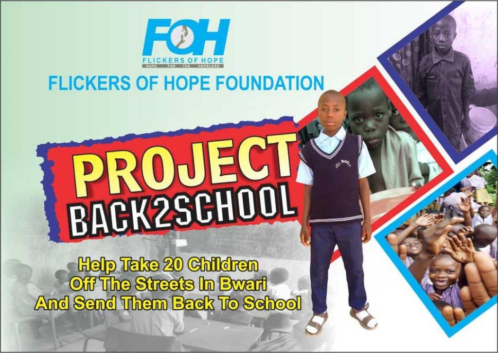 Send 20 children back to school in Bwari, Nigeria