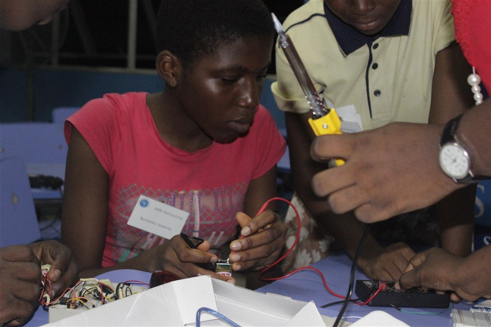 STEM & Life Skills for 300 girls in Nigeria