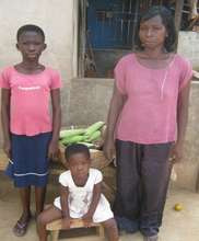 Margaret and two of her children.