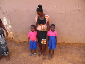 Gifty and her two children