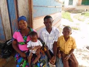 Lucy, Isaac, Kwame and Ebenezer