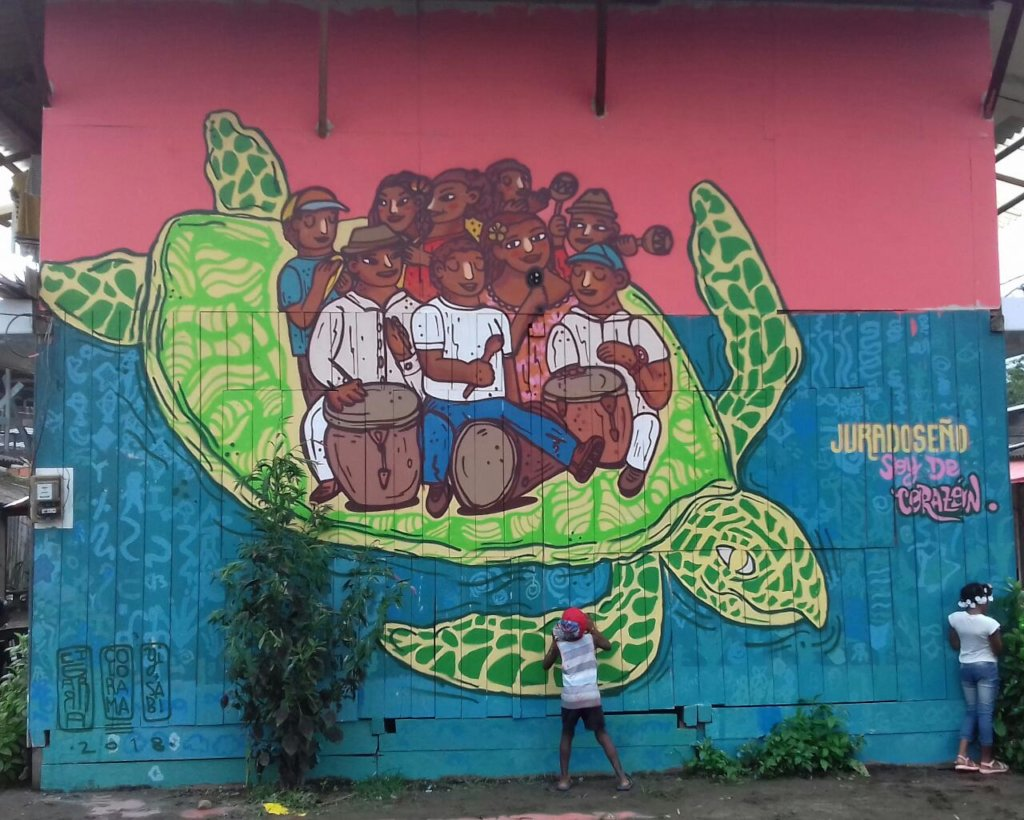 Saving Kids & Turtles in Jurado, Colombia