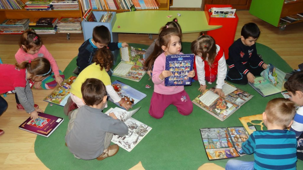 Stimulating Early Childhood Reading in Bulgaria