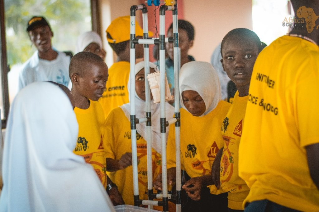 Empower the Careers of 10 Young African Scientists