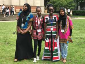 YoSA student Ammy from Kenya
