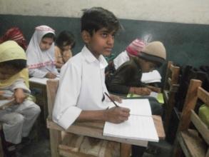 Ali in his class
