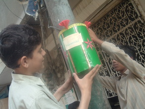 Students recycle to beautify & educate