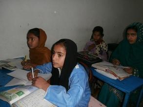 Qaisra in school