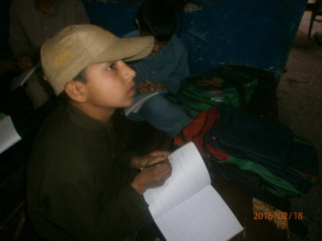 Fahim in class