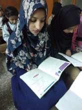 Concentrating on the lesson