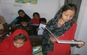 Javeria in school