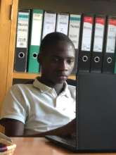 Studying at home, in the Malaika office