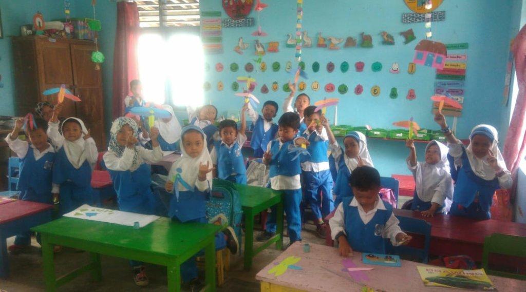 Village Children Playground in Central Java