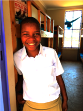 Fatuma - studying at Nyang'oro hostel