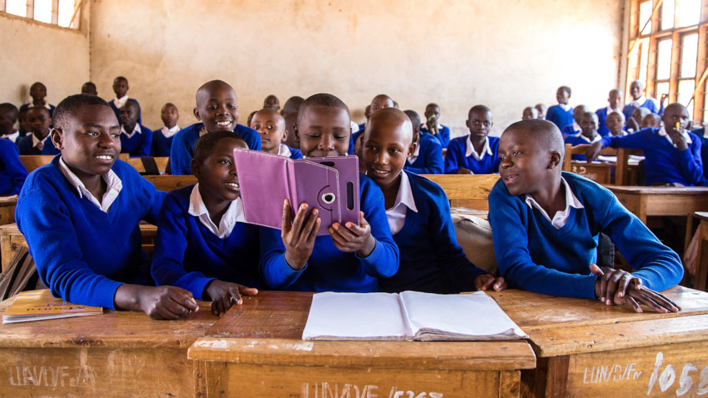 Give girls the gift of education this Christmas!