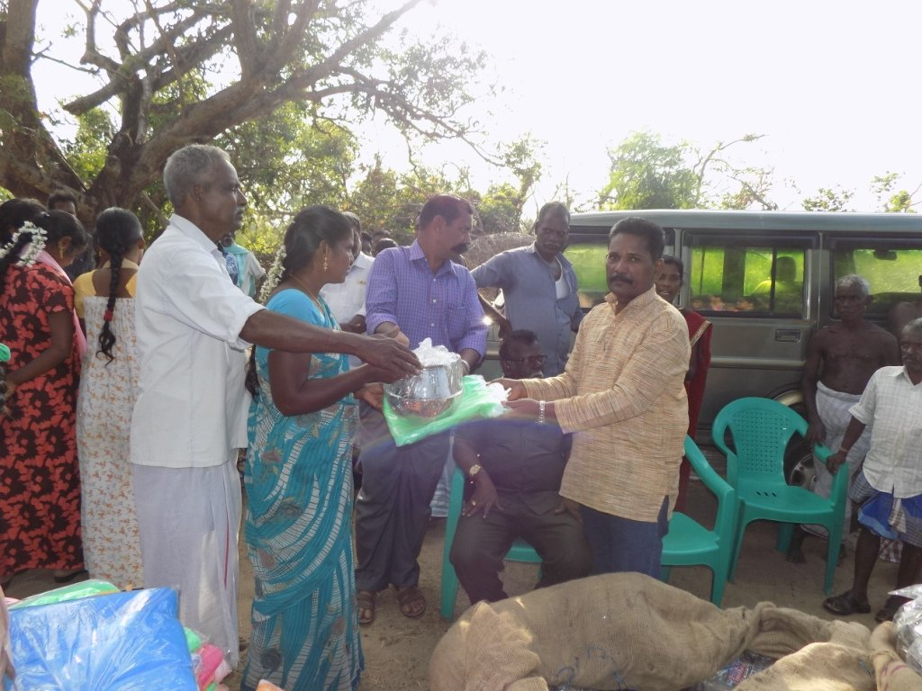 Relief and Recovery to Gaja Cyclone Hit Tamilnadu