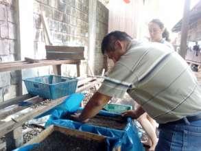Preparing the nursery