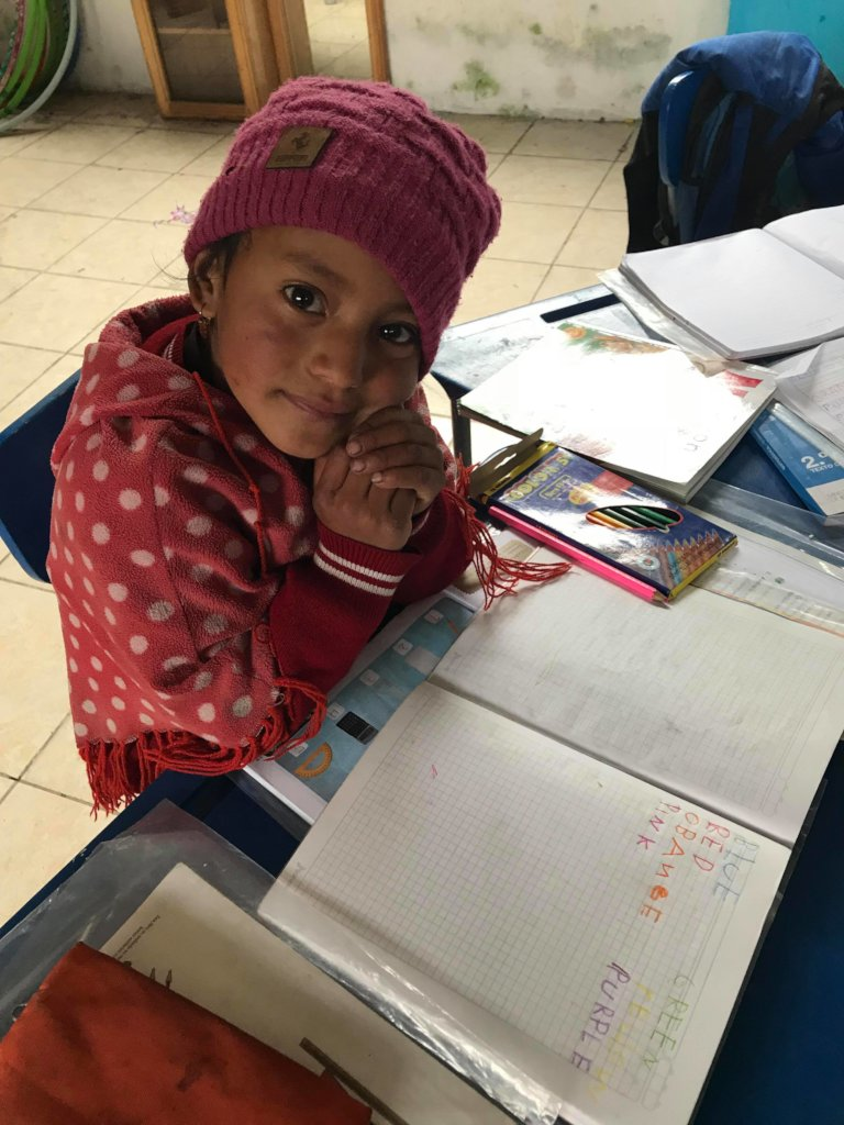 A chance at higher education for Kichwa children