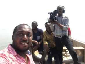 the Freetown Media Centre team in Production