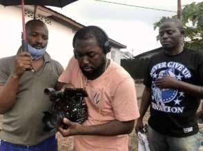 Miles B filming