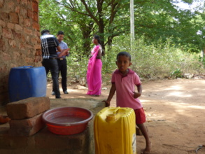 At Samadhi, water had to be transported from afar.