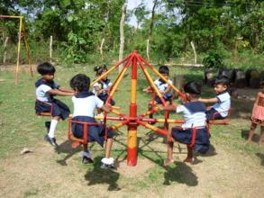 The new merry-go-round at Mithuru.