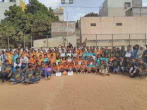 Young People participated in Community Cup
