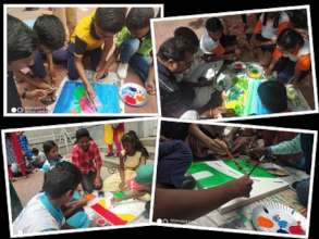 """Young People at """"LEARN BY ART"""" event"""