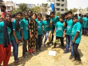 Tree Planting at Graduation Day 2019