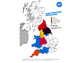 Specialist NF Nurses UK Map