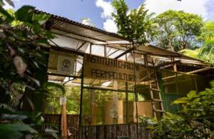 This is our Permaculture Center and plant nursery