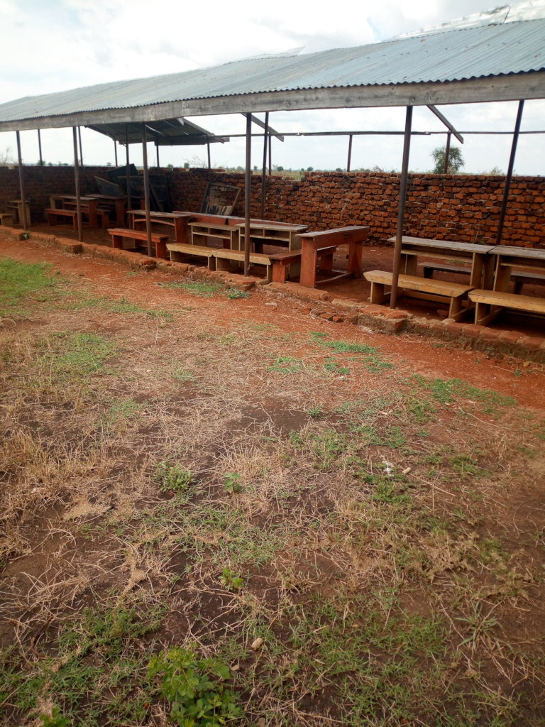 Classroom block & Latrine for 234 pupils in Uganda