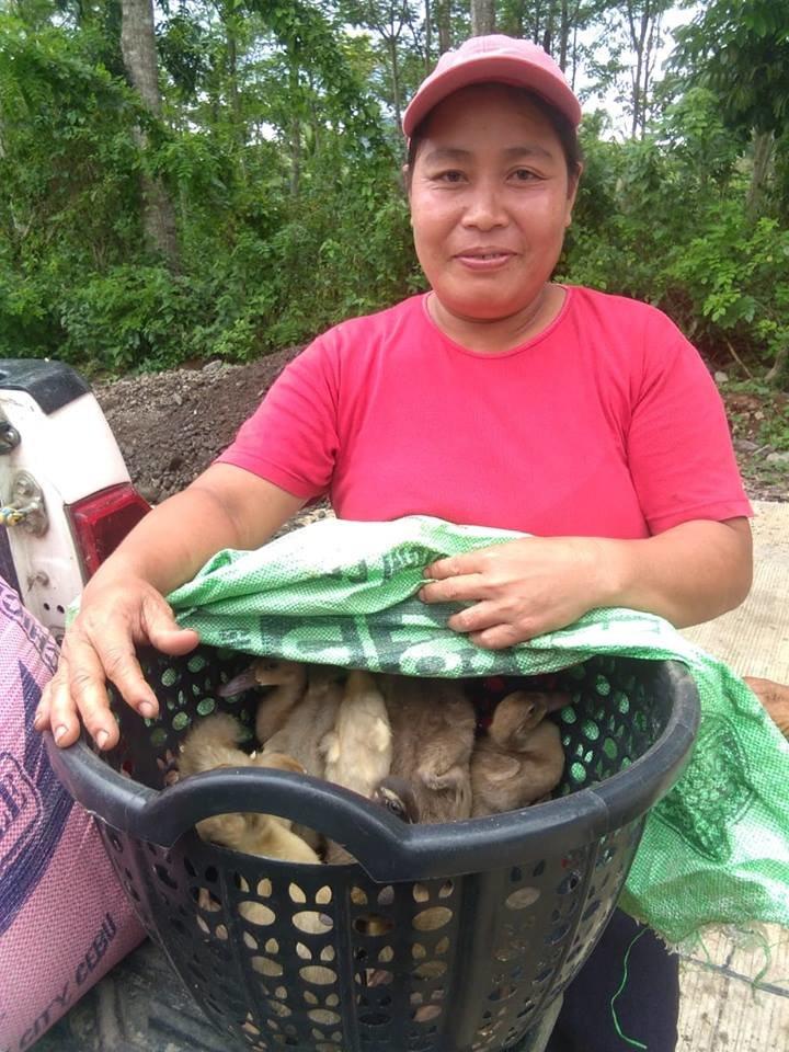Duck-raising Project for Disadvantaged Women
